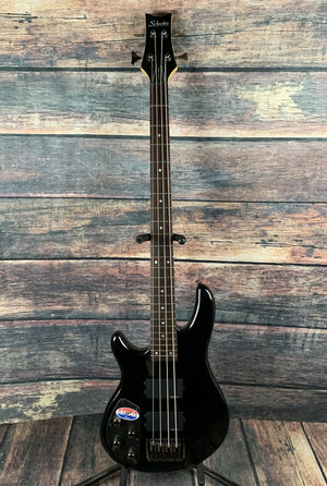 Schecter Electric Bass Schecter Left Handed Raiden Deluxe 4 String Electric Bass