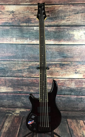 Schecter Electric Bass Schecter Left Handed Raiden Elite 5 String Electric Bass