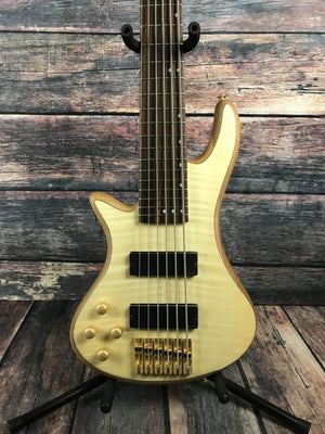 Schecter Electric Bass Schecter Left Handed Stiletto Custom 6 Electric Bass