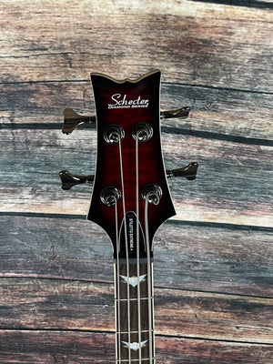 Schecter Electric Bass Schecter Left Handed Stiletto Extreme 4 Electric Bass -#2507