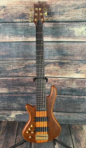 Schecter Left Handed Stiletto Studio 6 Electric Bass #2790