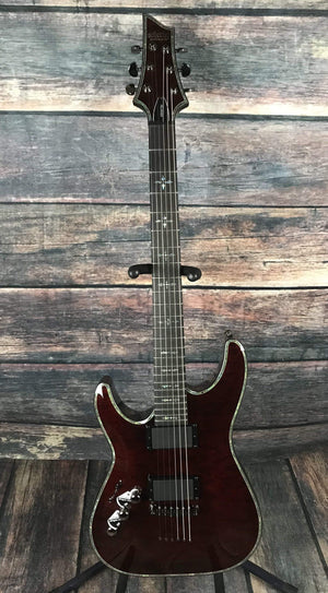 Schecter Electric Guitar Guitar Only Schecter Left Handed Hellraiser C-1 Electric Guitar- #1795