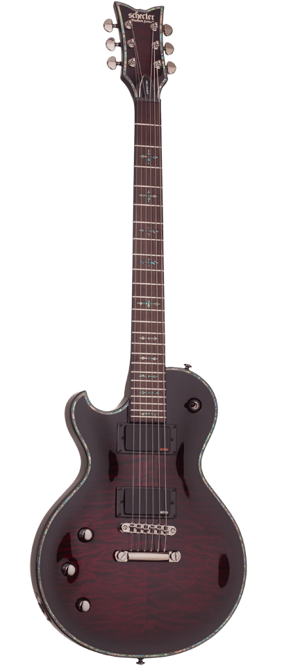 Schecter Electric Guitar Guitar Only Schecter Left Handed Hellraiser Solo II Electric Guitar