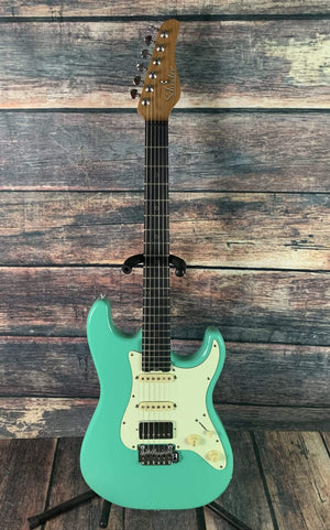 Schecter Electric Guitar Guitar Only Schecter Nick Johnston Traditional H/S/S Electric Guitar - Atomic Green#1543