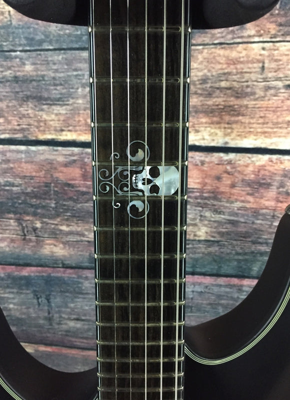 Schecter Electric Guitar Schecter Left Handed Blackjack SLS C-1 FR Active Electric Guitar- #1047