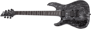 Schecter Electric Guitar Schecter Left Handed C-1 Silver Mountain LH Electric Guitar #1465