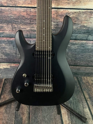 Schecter Electric Guitar Schecter Left Handed C-8 Deluxe 8 String  Electric Guitar #442