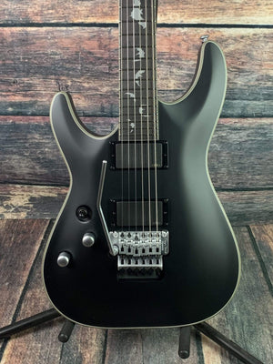 Schecter Left Handed Damien Platinum 6 FR Electric Guitar - #1184