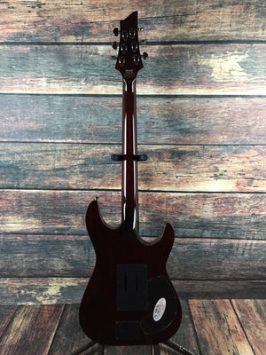 Schecter Electric Guitar Schecter Left Handed Hellraiser C-1 FR S Sustaniac Electric Guitar
