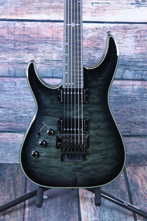 Schecter Electric Guitar Schecter Left Handed Hellraiser Hybrid C-1 FR Electric Guitar #1929