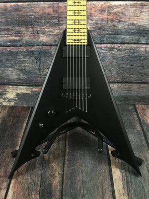 Schecter Electric Guitar Schecter Left Handed JLV-7 NT Jeff Loomis Sating Black 7 String V- #333