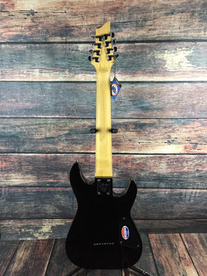 Schecter Electric Guitar Schecter Left Handed Omen 8 8  String Electric Guitar #2075