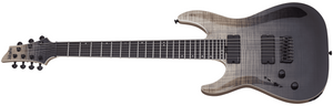 Schecter Electric Guitar Schecter Left Handed SLS Elite C-7 7 String Electric Guitar - #1362