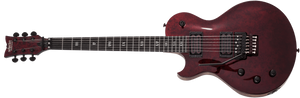 Schecter Electric Guitar Schecter Left Handed Solo-II FR Apocalypse Red Reign LH #1296