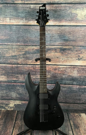 Schecter Electric Guitar Used Schecter Damien-6 Electric Guitar with Gig Bag