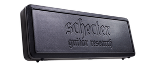 Schecter Electric Guitar With Schecter SGR-2A Avenger Hard Shell Case Schecter Left Handed Synyster Gates Custom S #202