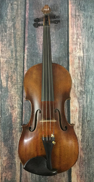 Scheitzer Mandolin Used Replica Joh. Bapt. Scheitzer Fecit at Forman Hieronym. Amati Pestini 1813 German Violin with Case