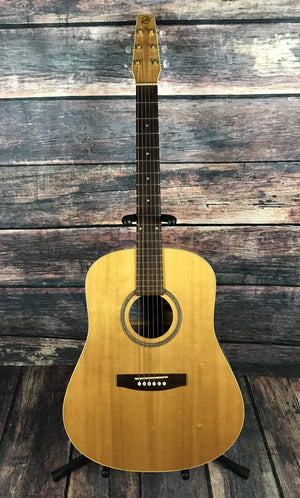 Seagull Acoustic Electric Guitar Used Seagull S6 20th Anniversary Acoustic Guitar with Gig Bag