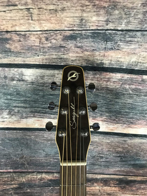 Seagull Acoustic Guitar Used Seagull Entourage Rustic Acoustic Guitar with Hard Shell Case