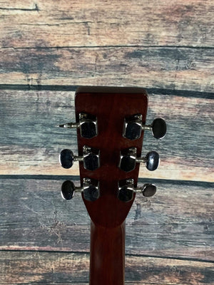 Sigma Acoustic Guitar Used Sigma by Martin MIK DM-4 Acoustic Guitar with Case