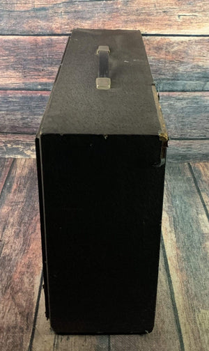 Silvertone Amp Used Sears Silvertone 1484 Twin Twelve Piggyback Tube Head and Cabinet