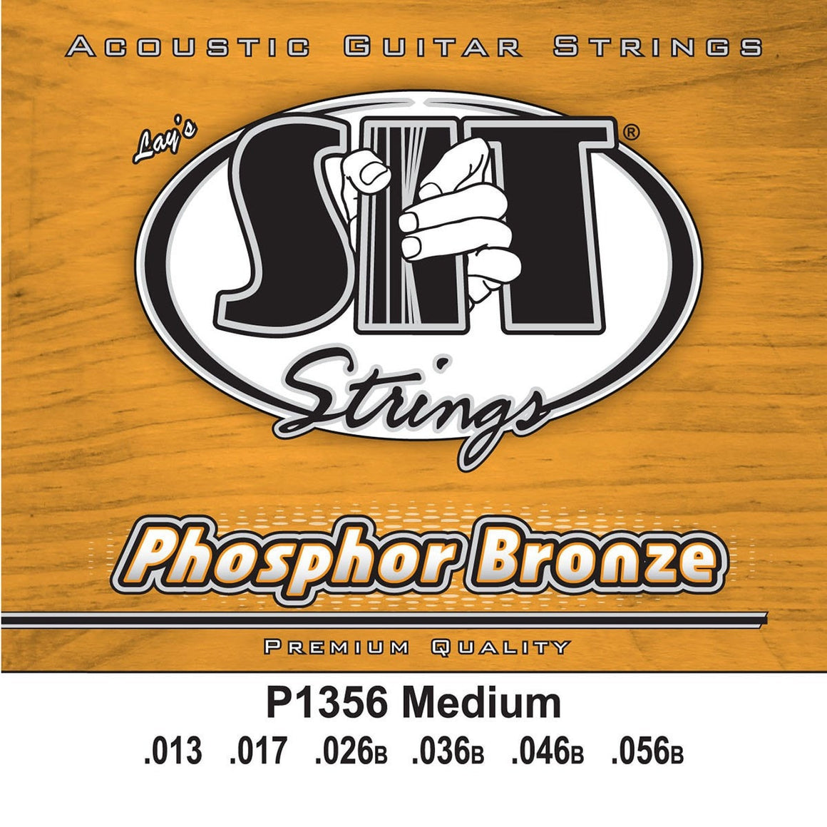 SIT Strings Acoustic Guitar Strings SIT Phosphor Bronze Medium P1356 Acoustic Guitar Strings