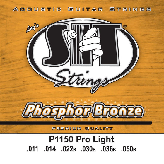 SIT Strings Acoustic Guitar Strings SIT Phosphor Bronze Pro Light P1050 Acoustic Guitar Strings