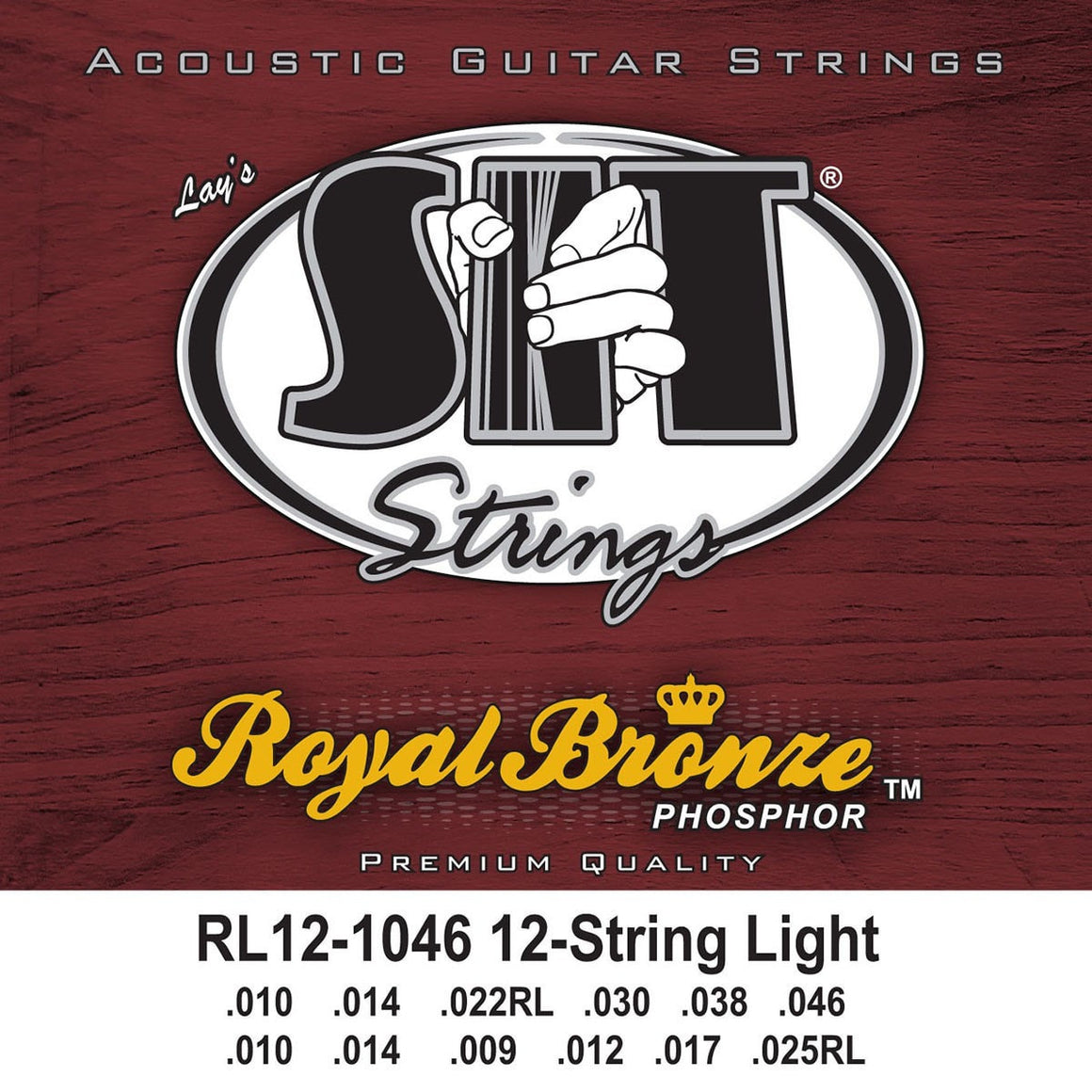 SIT Strings Acoustic Guitar Strings SIT Royal Bronze 12 string Light RL121046 Acoustic Guitar Strings