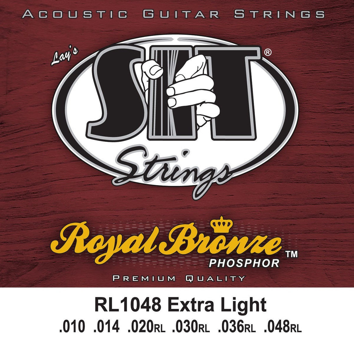 SIT Strings Acoustic Guitar Strings SIT Royal Bronze Extra Light RL1048 Acoustic Guitar Strings