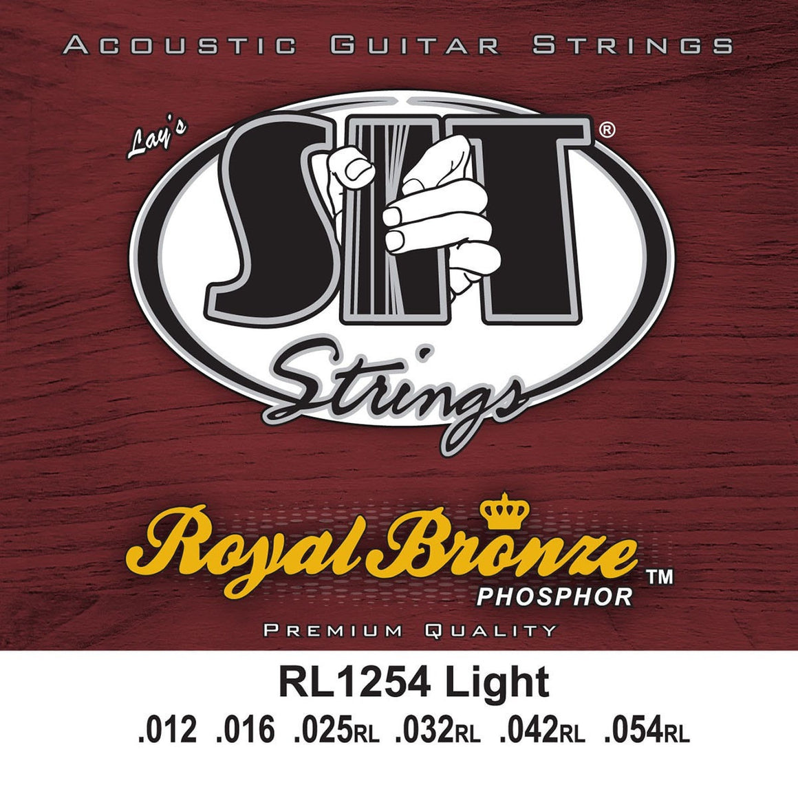 SIT Strings Acoustic Guitar Strings SIT Royal Bronze Light RL1254 Acoustic Guitar Strings