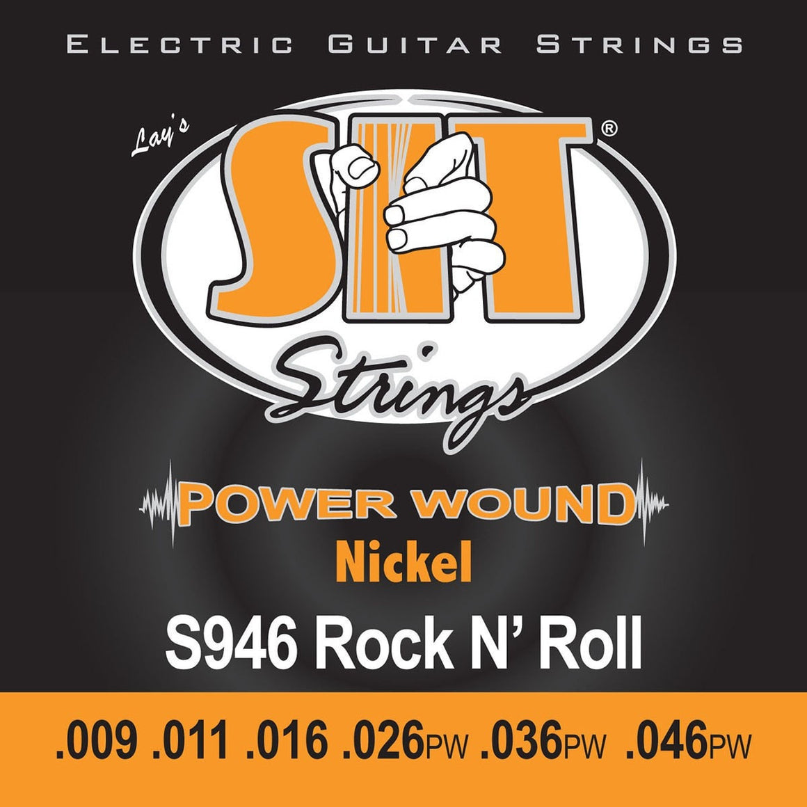 SIT Strings Electric Guitar Strings SIT Power Wound Nickel Rock N Roll S946 Electric Guitar Strings