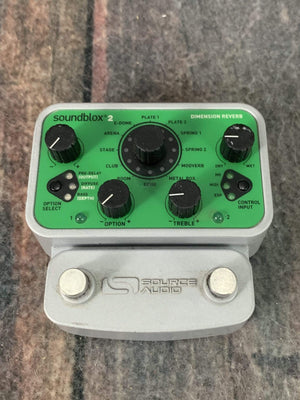 Source Audio pedal Used Source Audio Soundblox 2 Dimension Reverb Pedal