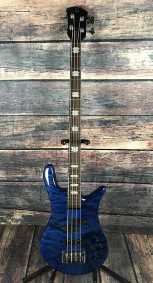Spector Electric Bass Spector Euro 4 LX 4 String Electric Bass Guitar- Blue Stain