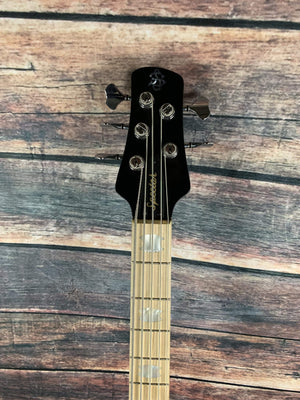 Spector Electric Bass Spector Euro 5 LX Limited Edition 5 String Electric Bass Guitar- Black Stain