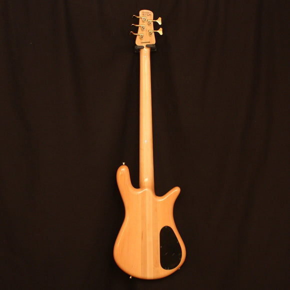 Spector Electric Bass Spector Left Handed Euro5LX Electric Bass with Poplar Burl Exotic Top
