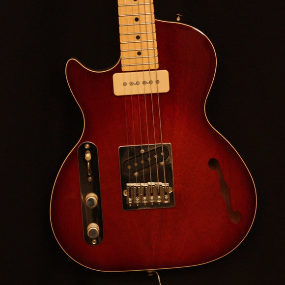 St. Blues Electric Guitar St. Blues Left Handed 61 South Electic Guitar- Made in the USA