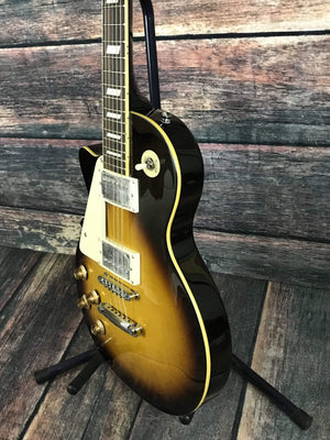 Stagg Electric Guitar Stagg Left Handed L320 Les Paul Style Electric Guitar- Sunburst