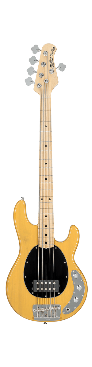 Sterling by Music Man Electric Bass Sterling by Music Man StingRay Classic Ray25CA 5-String Electric Bass- Butterscotch