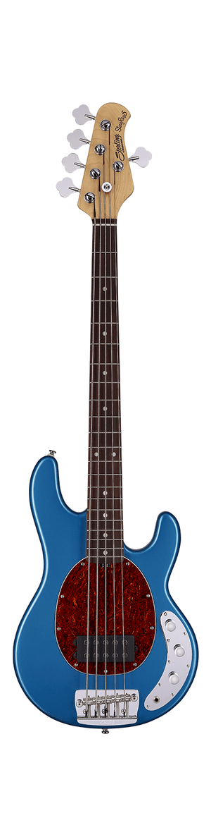 Sterling by Music Man Electric Bass Sterling by Music Man StingRay Classic Ray25CA 5-String Electric Bass- Toluca Lake Blue