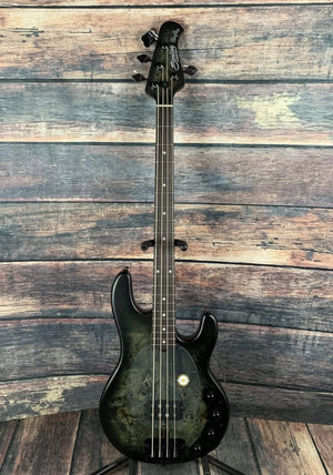 Sterling by Music Man Electric Bass Sterling by Music Man StingRay Ray34PB-R2 Electric Bass- Trans Black Satin