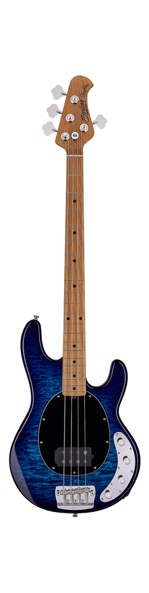 Sterling by Music Man Electric Bass Sterling by Music Man StingRay Ray34QM- Neptune Blue