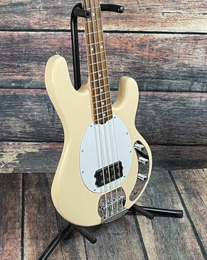 Sterling by Music Man Electric Bass Sterling by Music Man StingRay Ray4 Electric Bass - Vintage Cream