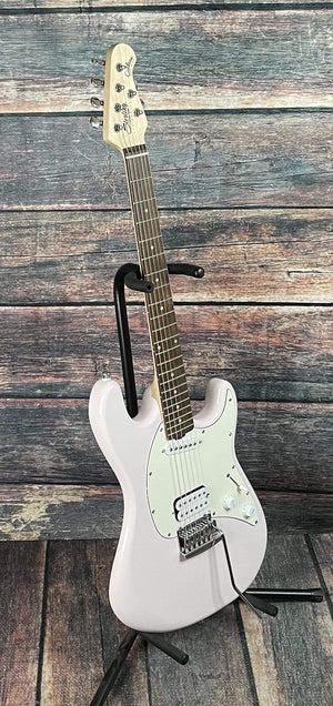 Sterling by Music Man Electric Guitar Sterling by Music Man CTSS30HS Shortscale Cutlass Electric Guitar - Shell Pink