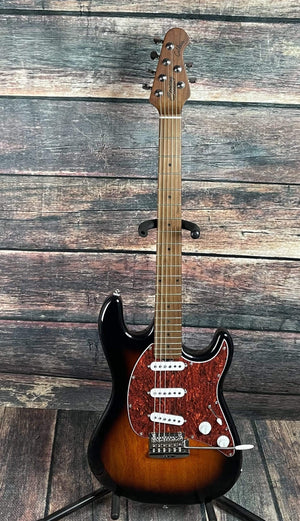 Sterling by Music Man Electric Guitar Sterling by Music Man Cutlass CT50SSS-VSB-M2 Electric Guitar- Vintage Sunburst