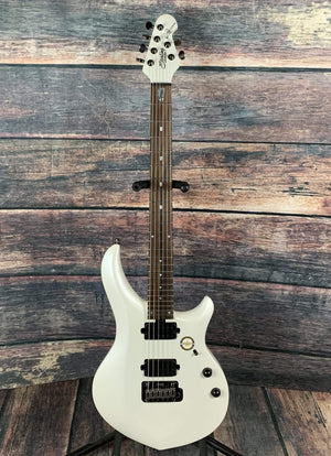 Sterling by Music Man Electric Guitar Sterling by Music Man John Petrucci Majesty MAJ100X Electric Guitar - Pearl White
