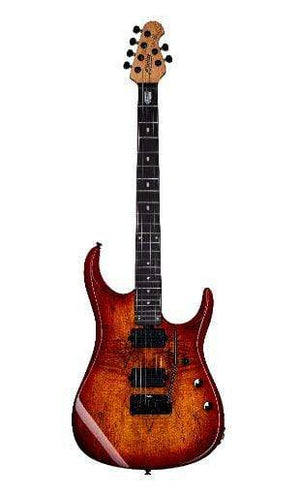 Sterling by Music Man Electric Guitar Sterling by Music Man John Petrucci Signature JP150DSM-BOB- Blood Orange Burst
