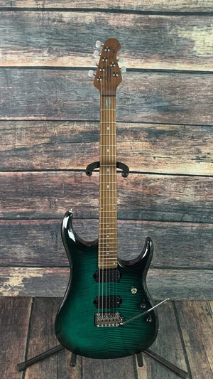 Sterling by Music Man Electric Guitar Sterling by Music Man John Petrucci Signature JP150FM - Flame Maple Teal