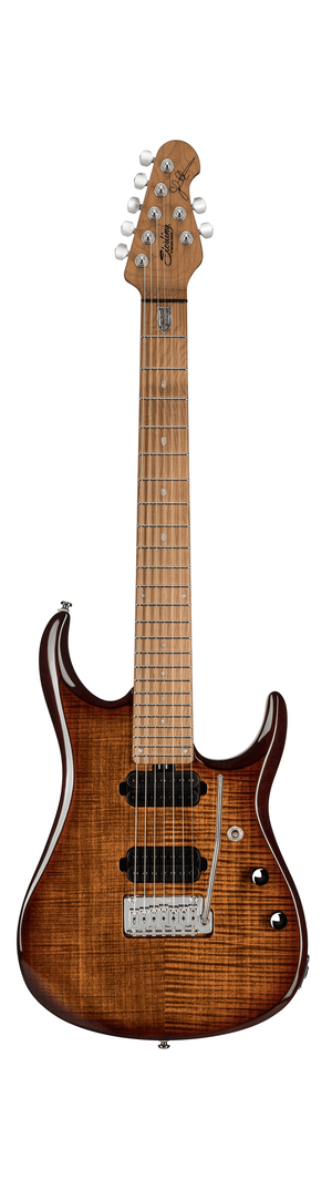 Sterling by Music Man Electric Guitar Sterling by Music Man John Petrucci Signature JP157FM - Flamed Top Island Burst