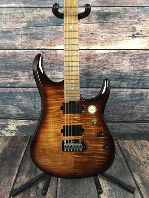 Sterling by Music Man Electric Guitar Sterling by Music Man JP150 John Petrucci Signature Electric Guitar- Flame Maple Island Burst