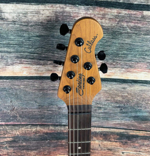 Sterling by Music Man Electric Guitar Sterling by Music Man RICHARDSON6-NPB Richardson Cutlass Electric Guitar - Natural Poplar Burl Burst